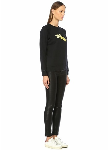 Alexa Chung for AG Sweatshirt Siyah